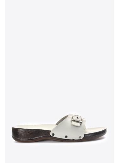 Vizon Ayakkabı Terlik Gri